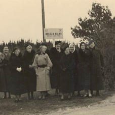 Līgas ekskursijā uz Bregža kalnu 1936. gads
