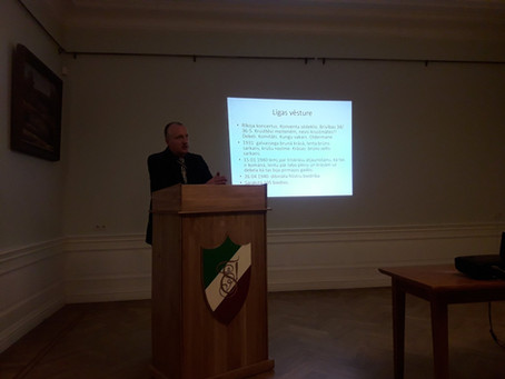 Literārais vakars ar Dr. hist. Valteru Ščerbinski