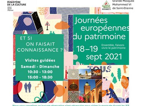 Les Journées Européennes du Patrimoine #JEP2021