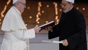 Déclaration commune historique du pape et du grand imam d'Al-Azhar