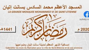 Calendrier Ramadan 2020 - 1441