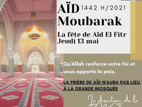 Aïd El Fitr 1442h/2021
