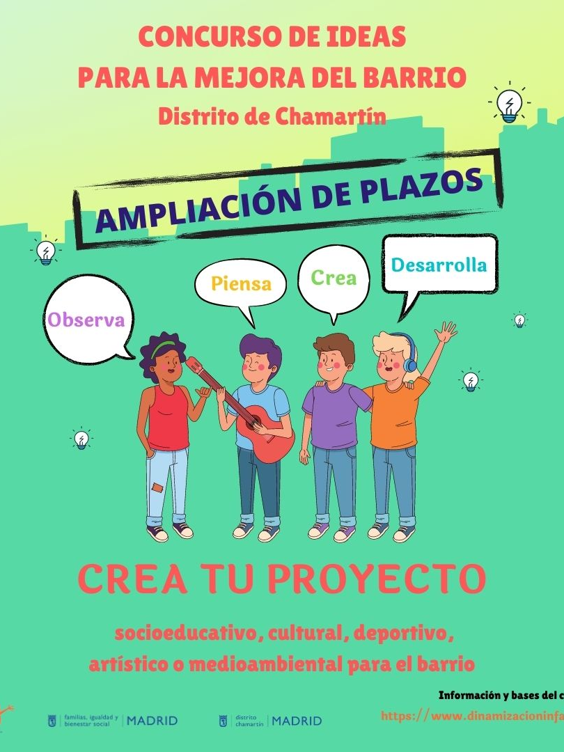 CONCURSO DE IDEAS PARTICIPA CHAMARTÍN