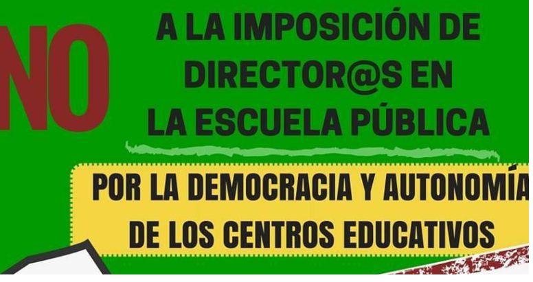 NO A LA IMPOSICIÓN DE DIRECTORES