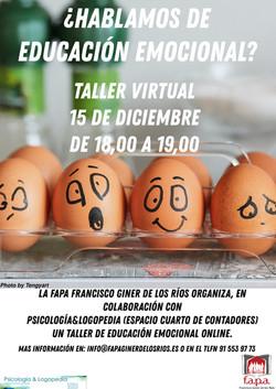 TALLER DE EDUCACIÓN EMOCIONAL ON LINE