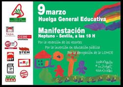 HUELGA GENERAL EDUCATIVA