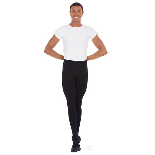 34943 Euroskins Men's Microfiber Footed Tights
