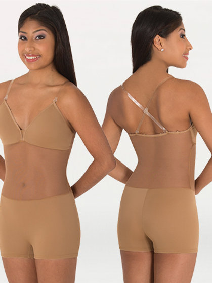 BW296 Camisole Convertible Body Short