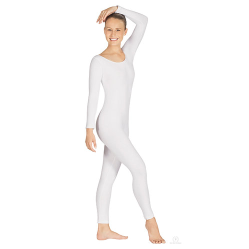 10129 Cotton/Lycra Long Sleeve Unitard