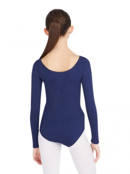 TB 135 Nylon Long Sleeve Leotard