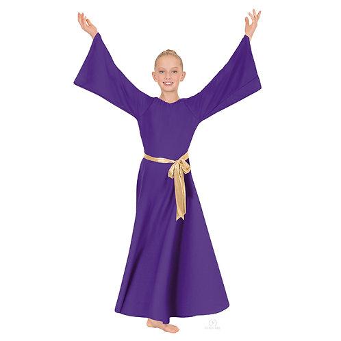 13729C Child Angel Sleeve Dress