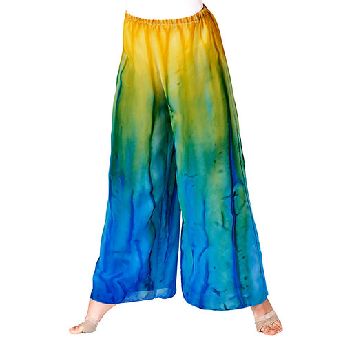 WC100 Water Colour Palazzo Pants