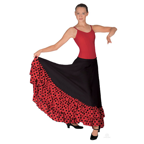 EU08804 Flamenco Skirt
