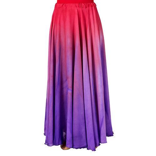 WC105 Water Colour Full Skirt