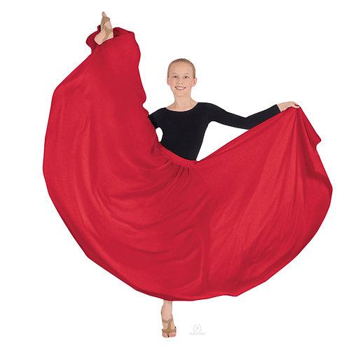 13674C Child Triple Layer Lyrical Skirt