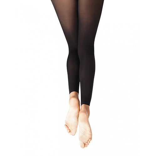 1917 Capezio Self-Knit Ultrasoft Footless Tights