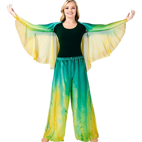 WC107 Water Colour Angel Wing Shrug