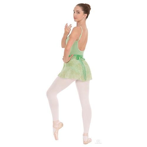 EU04461 Printed Wrap Skirt