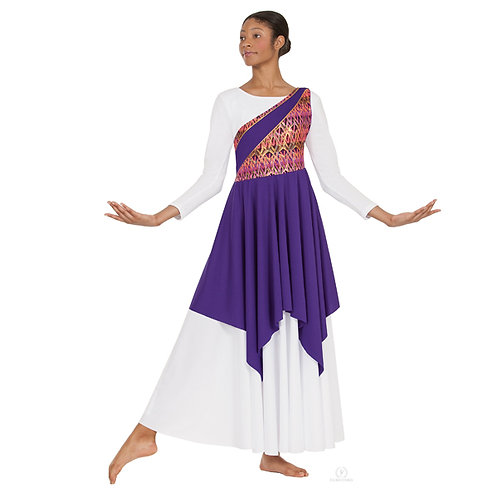 63567 Joyful Praise Asymmetrical Tunic