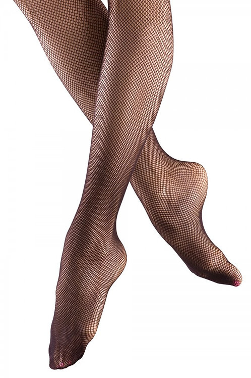 T0972G Bloch Girls Fishnet Tights