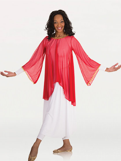 515 Angel Sleeve Tunic