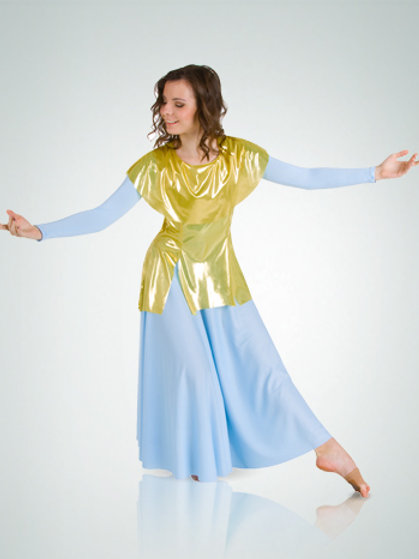 577 Adult Metallic Pullover