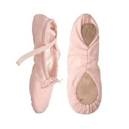 2039 Capezio Canvas Ballet Shoe