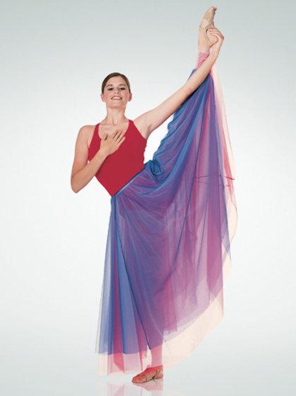 538 Nylon Chiffon Skirt