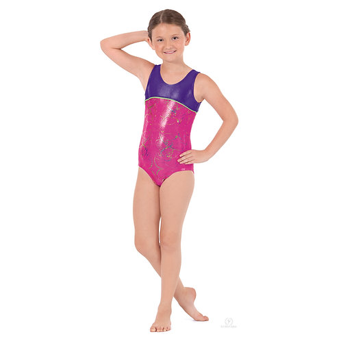 30875 Metallic Splatter Leotard