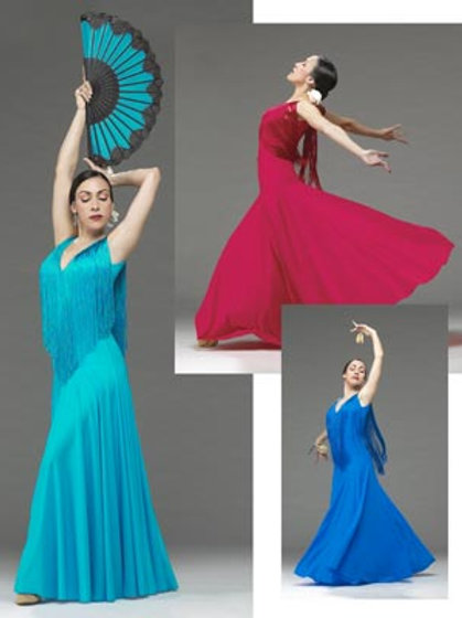 FL891 Maria Flamenco Dress