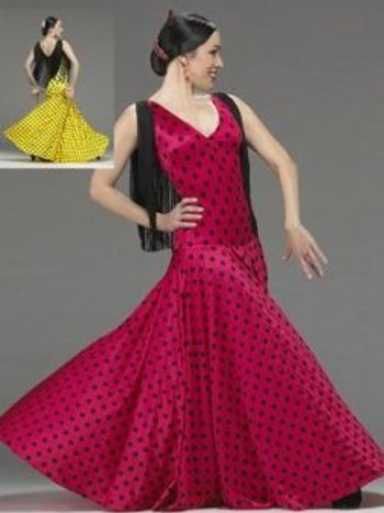 FL903 Carmen Flamenco Dress