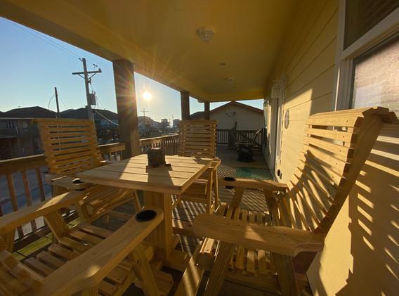 Deck - Sunrise