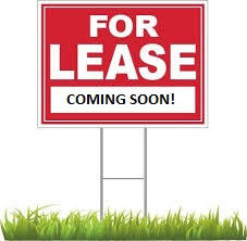 For Lease Coming soon