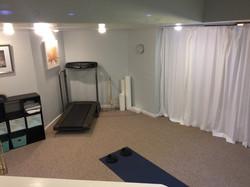 Studio space (curtain closed)