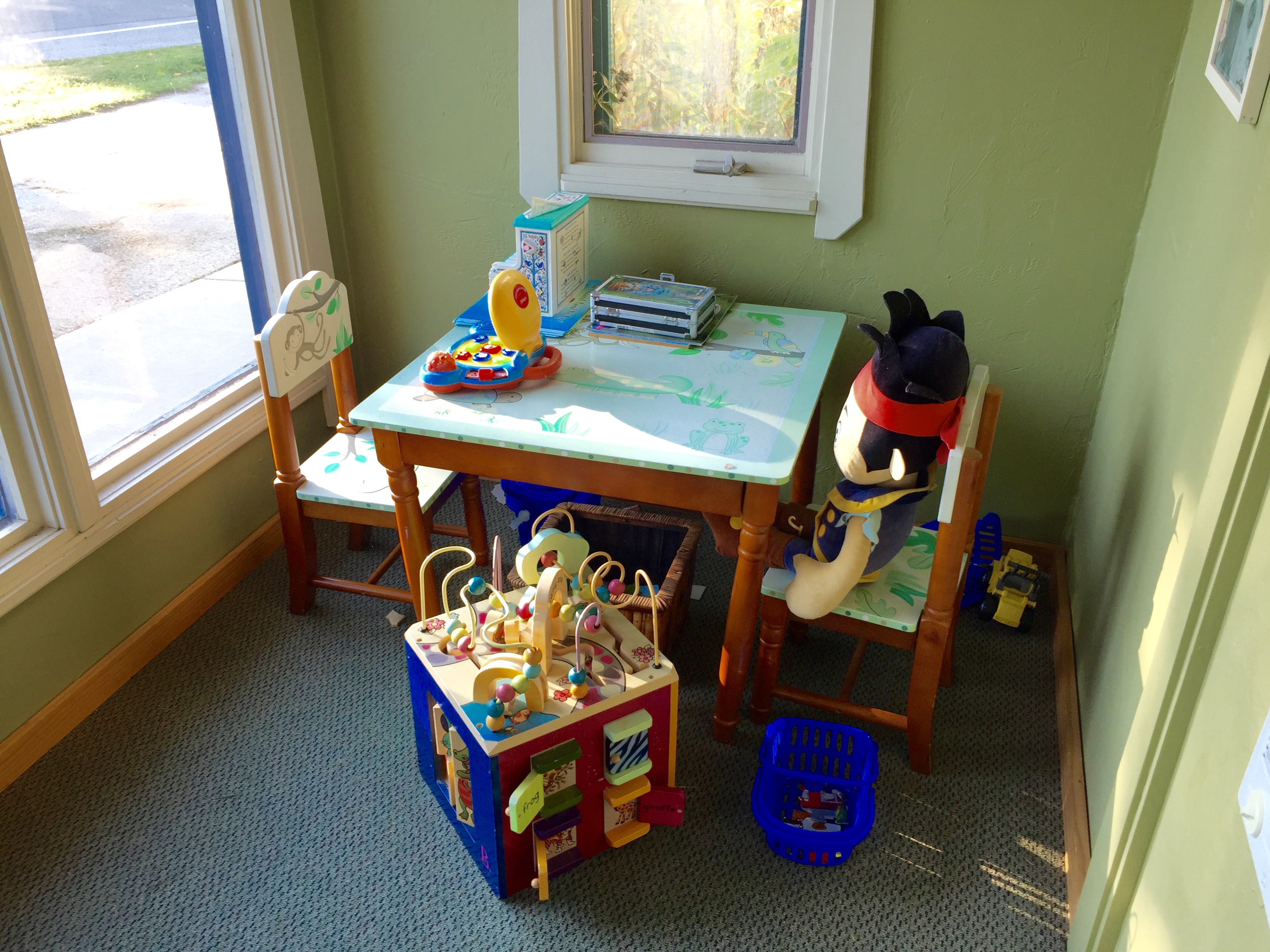 Kids play nook