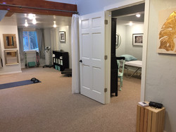 Treatment room and studio space