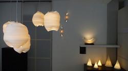 46. Mini chandelier pods