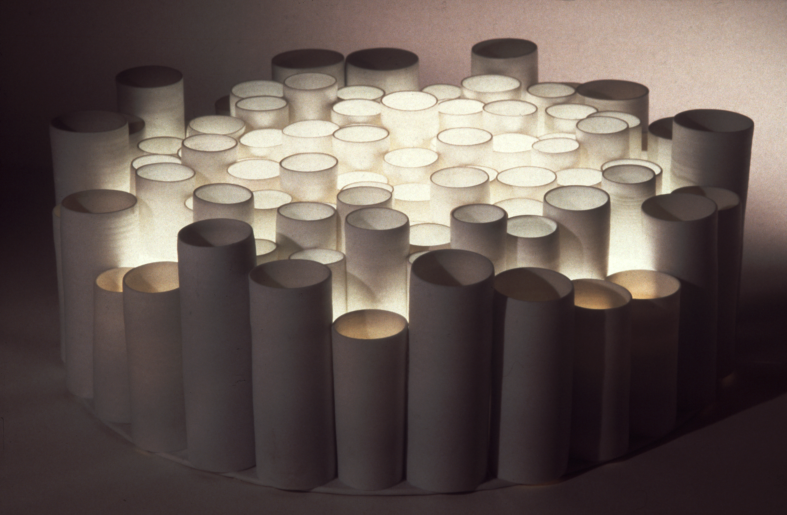 26. Circle of Light Cylinders.