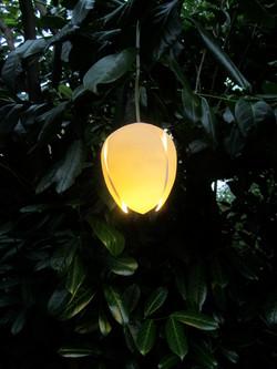 7. Goa cast porcelain pendant light