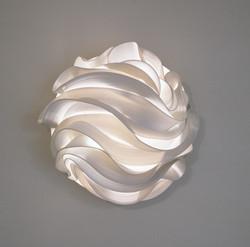 35. Waves, wall light