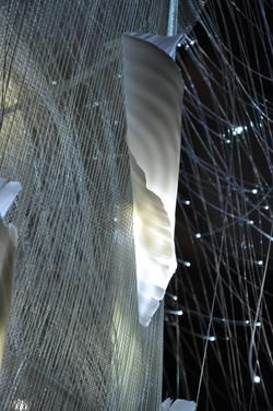 Detail from Vortex 2 chandelier