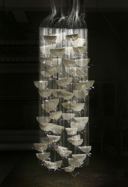 15. Woven Light and porcelain