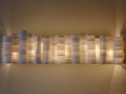 Wall light, thrown and joined porcelain. Private Collection