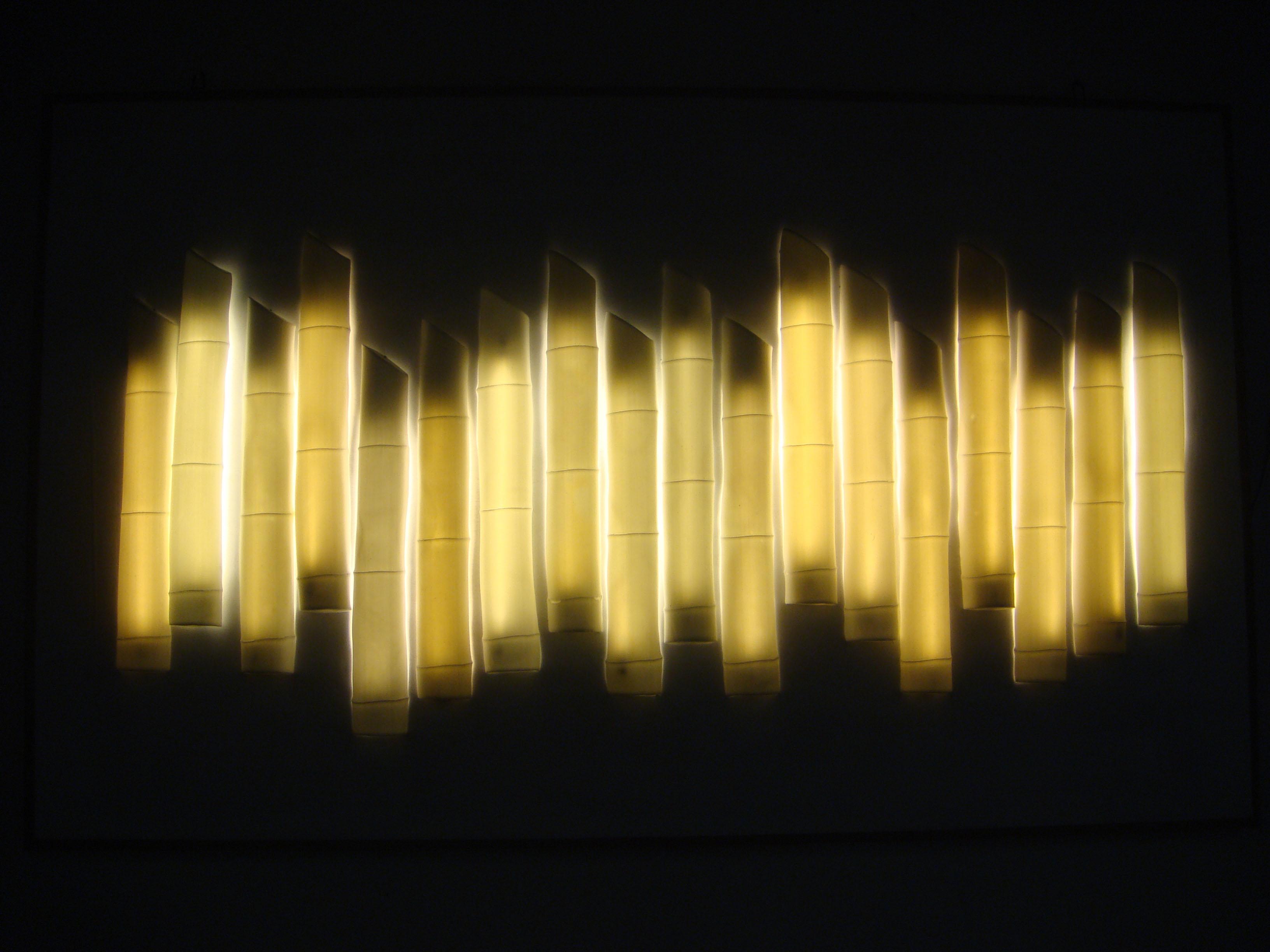 10. Bamboo Cast Wall light.