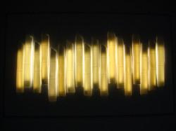 10. Bamboo, cast wall light
