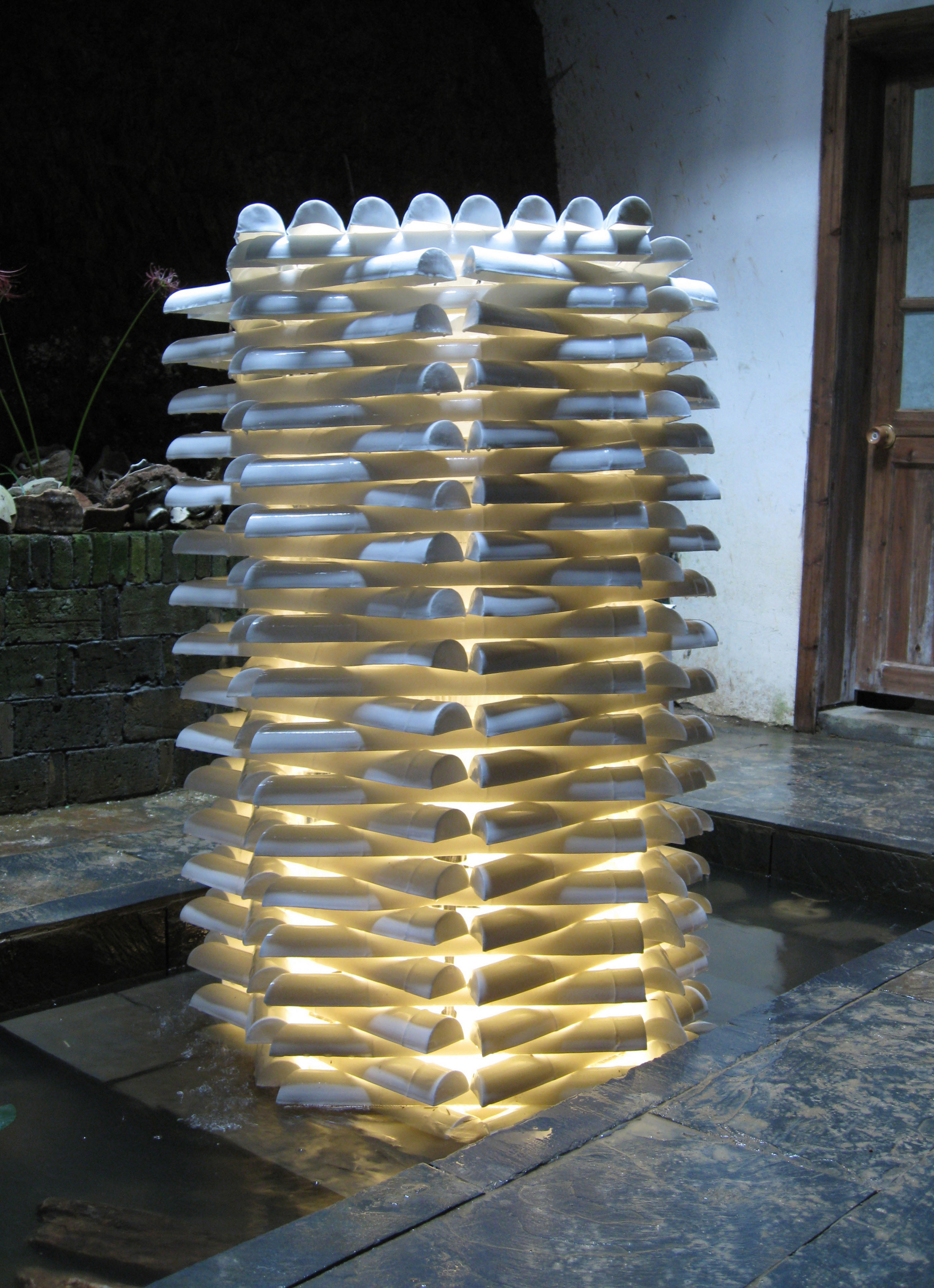 9. Cast bamboo Water feature