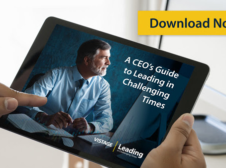 A CEO's guide to Leading in Challenging Times