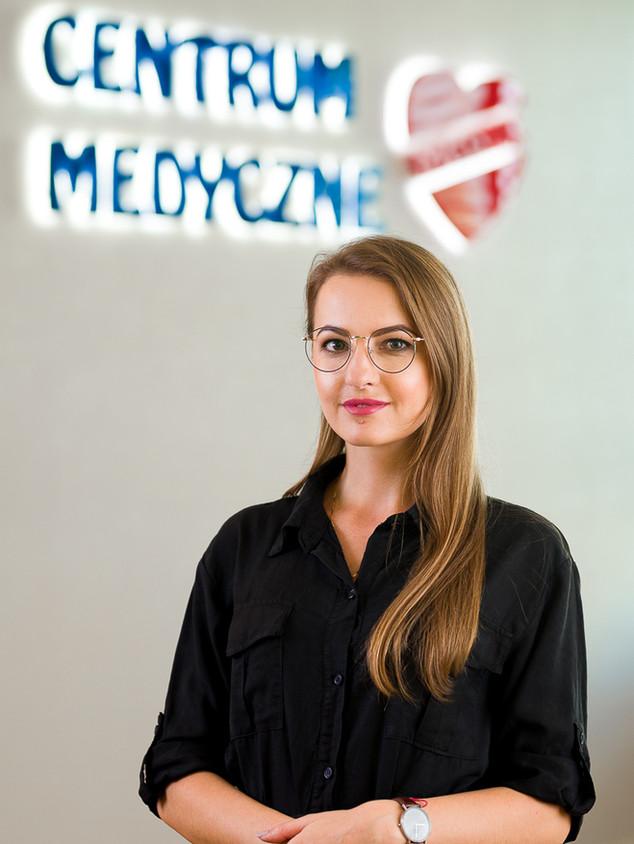 Pracownik firmy medycznej Rzeszów- zdjęcie biznesowe