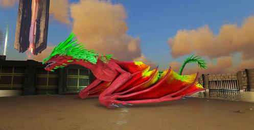 190 Unleveled Rasta Ice Wyvern Clone (Xbox PvE)