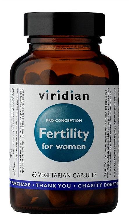 VIRIDIAN, PRO-CONCEPTION FERTILITY FOR WOMEN